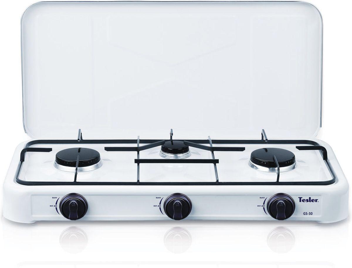Tesler GS-30, White плитка газовая - Настольные плиты