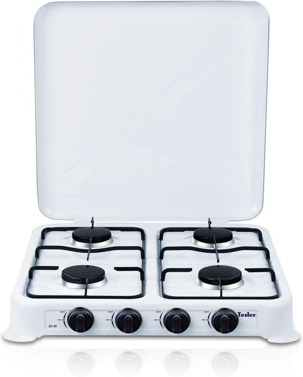 Tesler GS-40, White плитка газовая - Настольные плиты