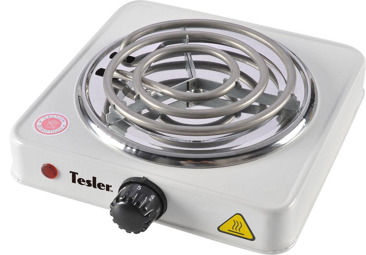 Tesler PEO-01, White плитка электрическаяPEO-01 WHITEПортативная и простая в пользовании электроплита, которая позволит вам приготовить или подогреть блюдо в условиях офиса или, скажем, где-нибудь на дачу. Управление температурой осуществляется посредством вращения механической ручки.Сама плита выполнена из эмалированной стали, поэтому легко чистится и выглядит весьма эффектно. Также плитка оснащена резиновыми ножками, которые обеспечивают прочную установку плиты на горизонтальную поверхность.