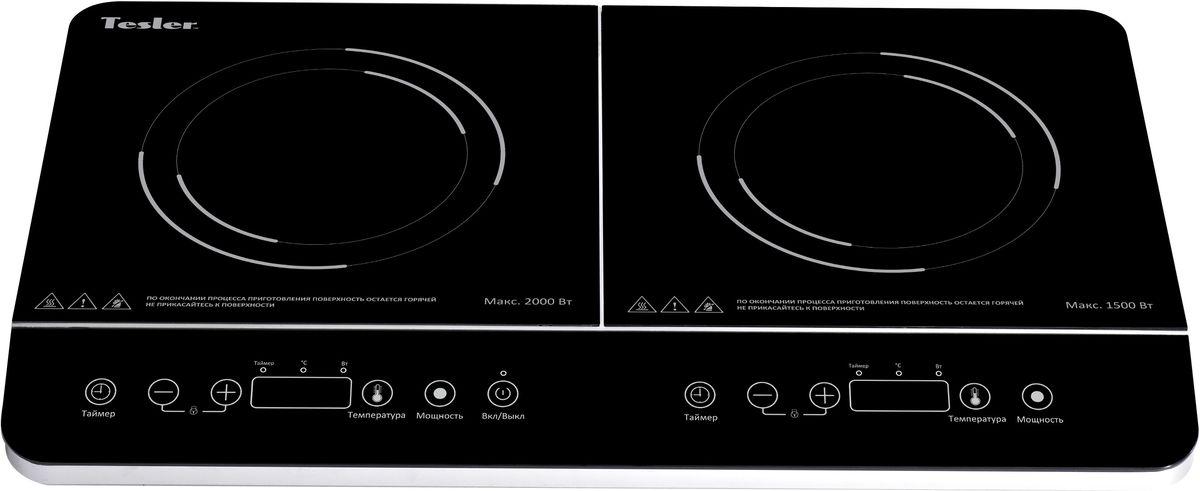 Tesler PI-22, Black плитка индукционная - Настольные плиты