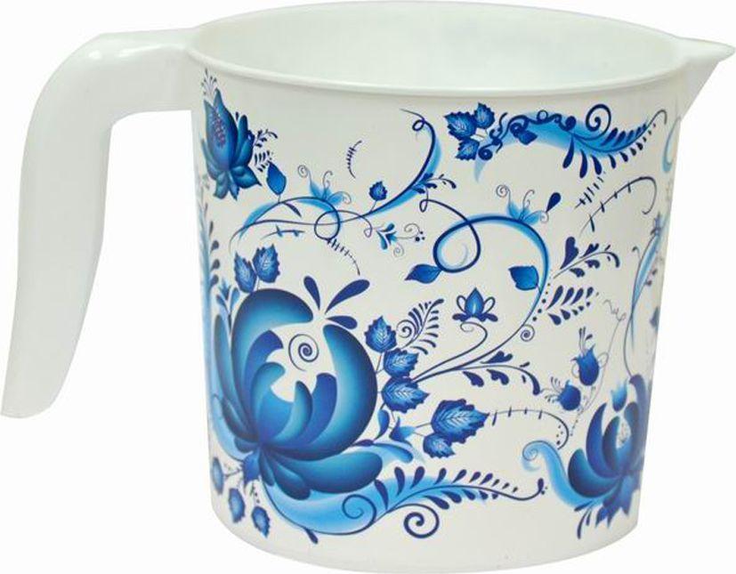 Кружка Violet Гжель, 1 л281078Кружка Гжель выполнена из высококачественного пластика.Кружка имеет удобную ручку. Вместительная.Кружка выполнена из прочного материала. Объем: 1 л.Такая кружка прекрасно подойдет для дома и дачи.