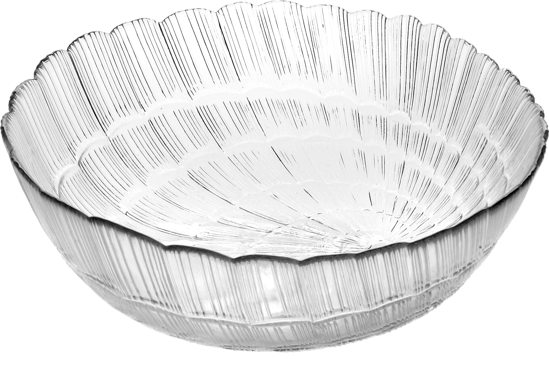 Салатник Pasabahce Атлантис, цвет: прозрачный, диаметр 12 см10248SLBСалатник Pasabahce Атлантис изготовлен из прочного силикатного стекла с повышенной термостойкостью. Стенки украшены изящным рельефом. Салатник прекрасно подходит для подачи салатов, закусок и других блюд, например, мяса.Салатник красиво оформит праздничный стол и удивит вас стильным дизайном. Можно мыть в посудомоечной машине и использовать в микроволновой печи.