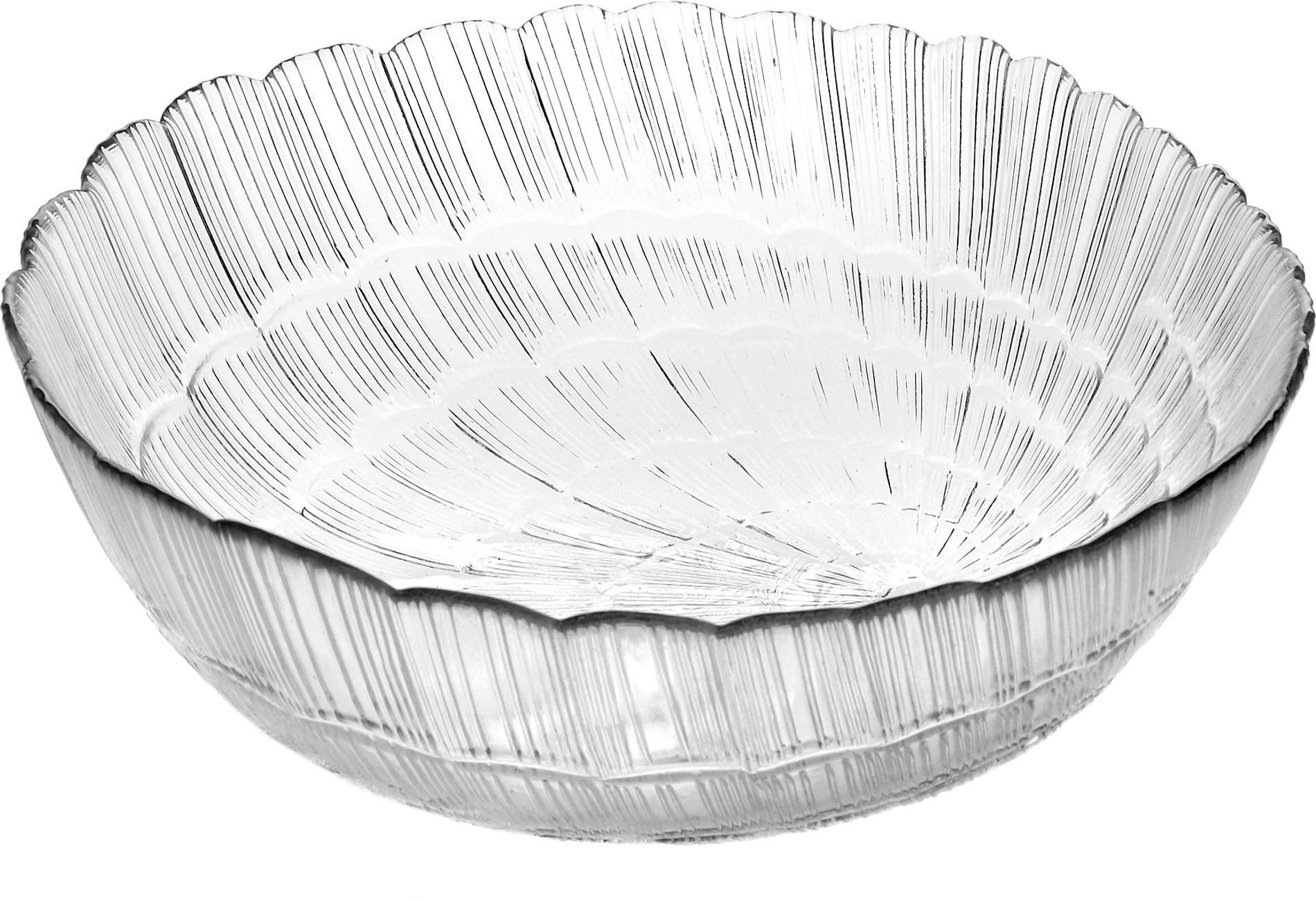 Салатник Pasabahce Атлантис, цвет: прозрачный, диаметр 15,6 см10250SLBСалатник Pasabahce Атлантис изготовлен из прочного закаленного силикатного стекла. Стенки украшены изящным рельефом. Салатник прекрасно подходит для подачи салатов, закусок и других блюд, например, мяса.Салатник красиво оформит праздничный стол и удивит вас стильным дизайном.Можно мыть в посудомоечной машине и использовать в микроволновой печи.