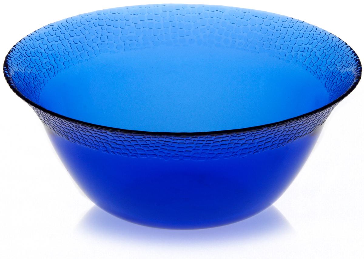 Салатник Pasabahce Mosaic, цвет: голубой, диаметр 23 см10298SLBMСалатник Pasabahce Mosaic, выполненный из закаленного прозрачного натрий-кальций-силикатного стекла, предназначен для красивой сервировки различных блюд. Внешние стенки салатника имеют рифленую окантовку. Салатник сочетает в себе изысканный дизайн с максимальной функциональностью.Оригинальность оформления придется по вкусу и ценителям классики, и тем, кто предпочитает утонченность и изящность.Можно использовать в холодильной камере, микроволновой печи и мыть в посудомоечной машине.Диаметр салатника: 23 см. Высота салатника: 9,5 см.