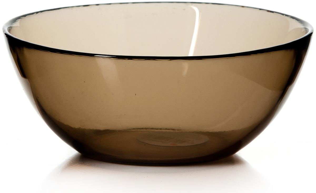 Салатник Pasabahce Броунз, цвет: коричневый, диаметр 12,5 см10341SLBZСалатник Pasabahce Броунз изготовлен из закаленного стекла invitation. Через прозрачные тонированные стенки видны все ингредиенты, что выглядит достаточно эффектно при подаче блюда на стол.Такой салатник придется по душе любителям минималистического стиля.