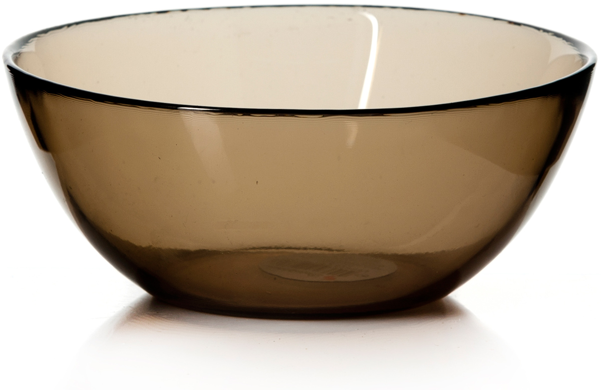 Салатник Pasabahce Броунз, цвет: коричневый, диаметр 22 см салатник terracotta дерево жизни диаметр 22 см