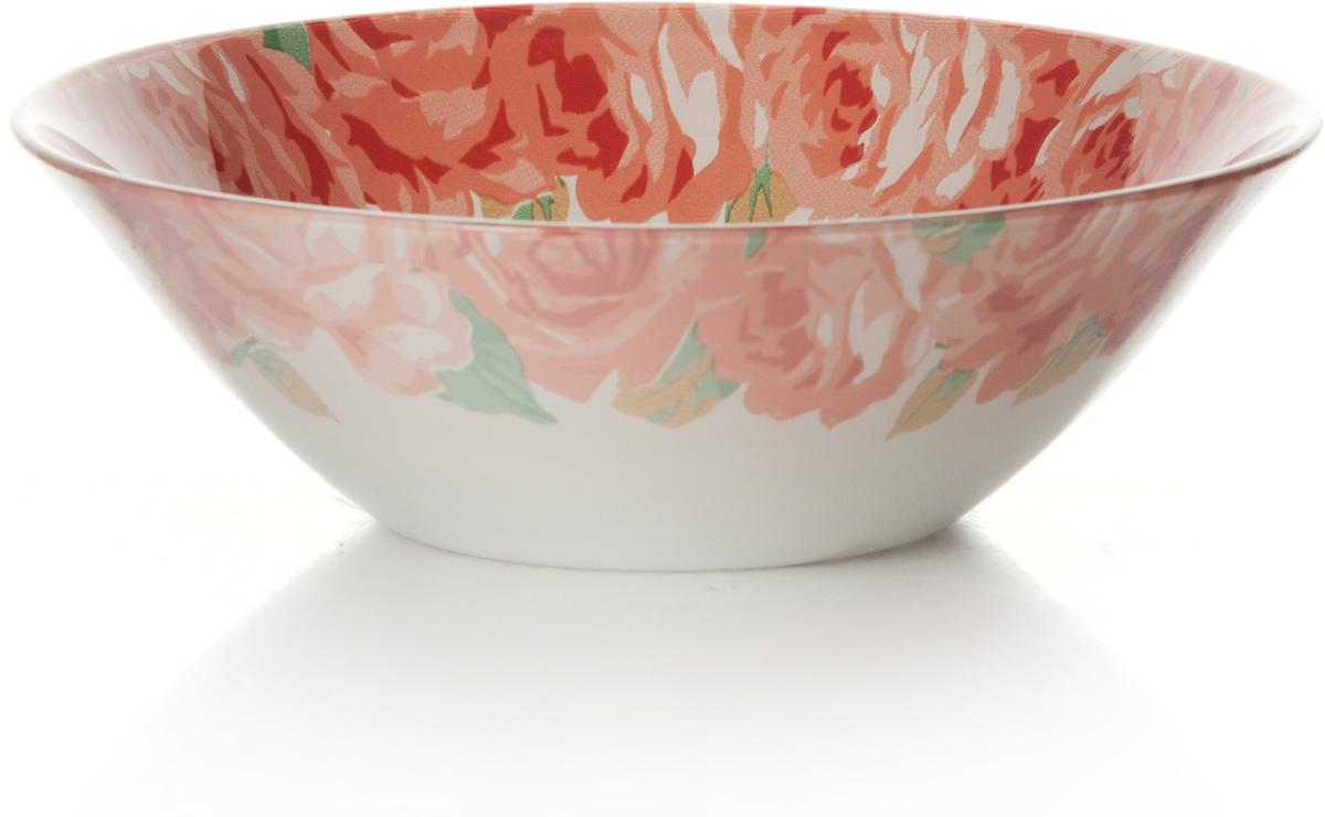 Салатник Pasabahce Пионы. Домашний, цвет: белый, розовый, диаметр 14 см10414SLBDСалатник Pasabahce Пионы. Домашний изготовлен из закаленного стекла и оформлен изображением прекрасных пионов. Такой салатник украсит сервировку вашего стола и подчеркнет прекрасный вкус хозяина, а также станет отличным подарком.Можно мыть в посудомоечной машине и использовать в микроволновой печи.