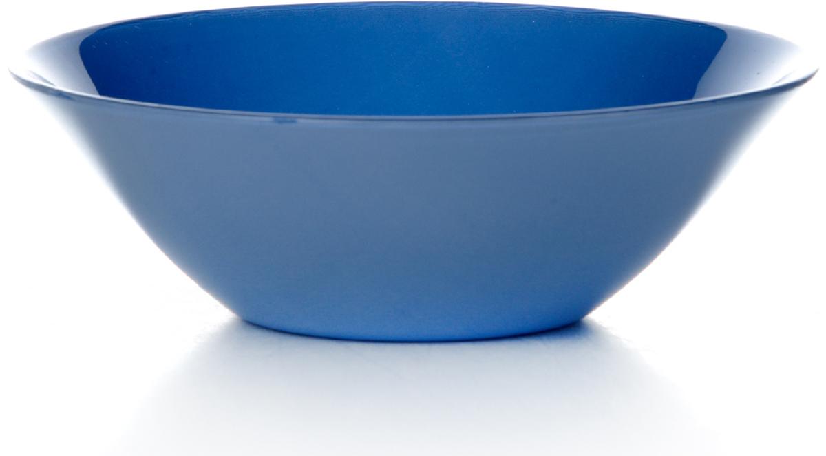 """Салатник Pasabahce """"Блю виллаж"""" изготовлен из упрочненного стекла синего  цвета. Такой салатник украсит сервировку вашего стола и подчеркнет  прекрасный  вкус хозяина, а также станет отличным подарком. Диаметр салатника: 14 см."""