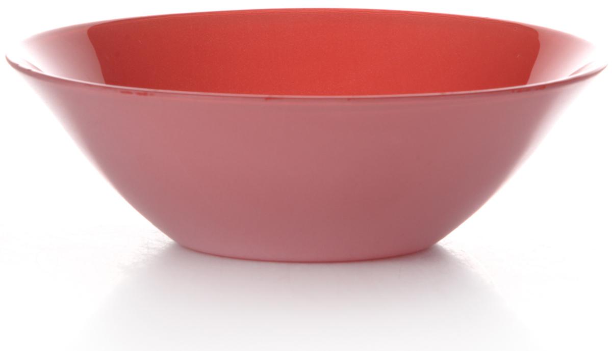 Салатник Pasabahce Рэд виллаж, цвет: красный, диаметр 14 см10414SLBD20Салатник Pasabahce Рэд виллаж изготовлен из упрочненного стекла красного цвета. Такой салатник украсит сервировку вашего стола и подчеркнет прекрасный вкус хозяина, а также станет отличным подарком. Можно использовать в микроволновой печи и мыть в посудомоечной машине.