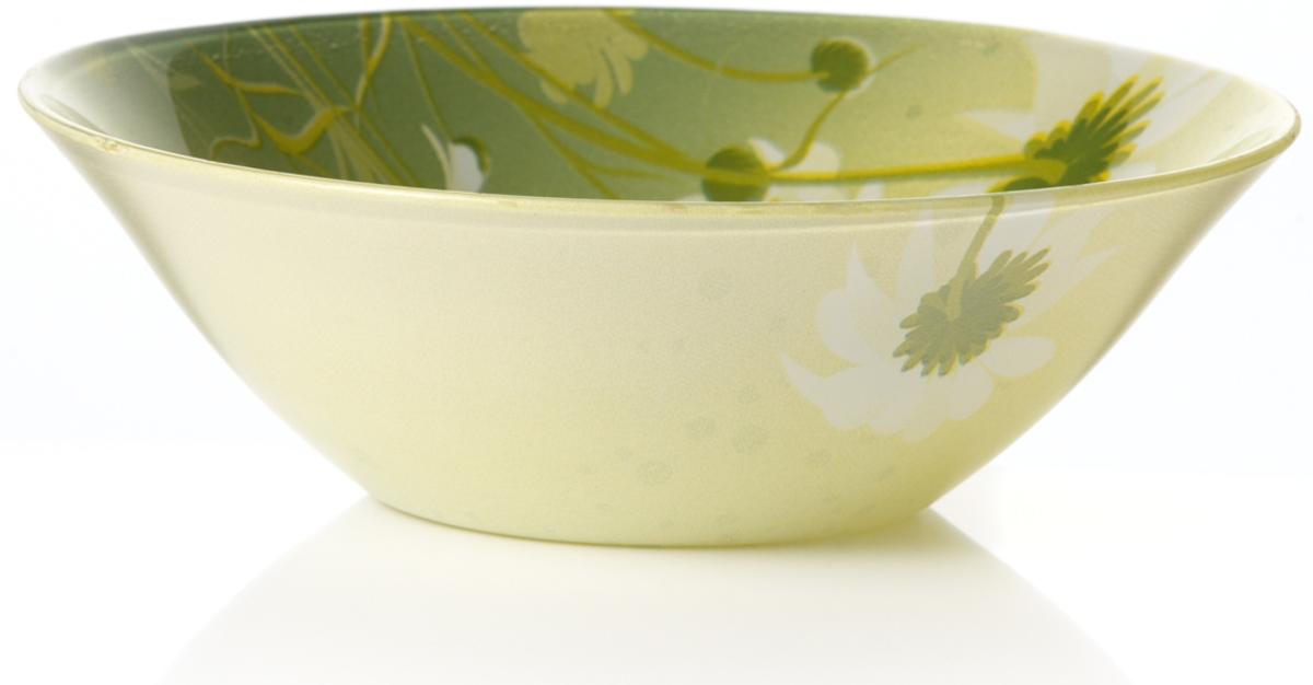 Салатник Pasabahce Камилла, цвет: зеленый, диаметр 14 см10414SLBD22Салатник Pasabahce Камилла изготовлен из закаленного стекла. Такой салатник украсит сервировку вашего стола и подчеркнет прекрасный вкус хозяина, а также станет отличным подарком.Можно мыть в посудомоечной машине и использовать в микроволновой печи.