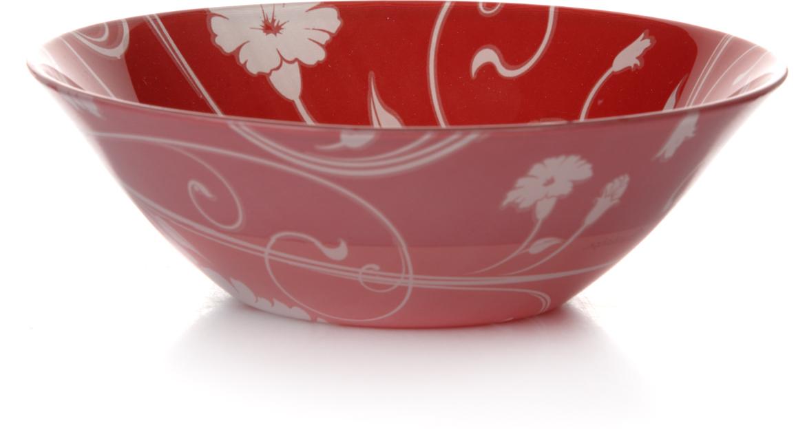 """Салатник Pasabahce """"Рэд серенейд"""" изготовлен из закаленного стекла и  оформлен изображением цветов. Такой  салатник украсит сервировку вашего стола и подчеркнет прекрасный вкус хозяина, а также станет отличным подарком.Можно мыть в  посудомоечной машине и использовать в микроволновой печи."""