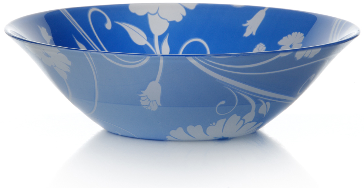 Салатник Pasabahce Блю серенейд, цвет: синий, диаметр 23 см10415SLBD2Салатник Pasabahce Блю серенейд изготовлен из закаленного стекла. Такой салатник украсит сервировку вашего стола и подчеркнет прекрасныйвкус хозяина, а также станет отличным подарком.
