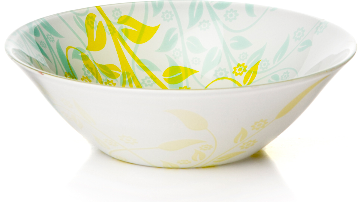 Салатник Pasabahce Ясемин, цвет: белый, диаметр 16,2 см10533SLBYСалатник Pasabahce Ясемин изготовлен из закаленного стекла. Такой салатник украсит сервировку вашего стола и подчеркнет прекрасный вкус хозяина, а также станет отличным подарком.Можно мыть в посудомоечной машине и использовать в микроволновой печи.