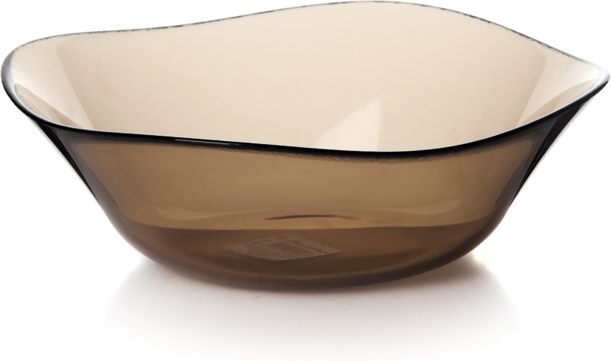 Салатник Pasabahce Броунз, цвет: коричневый, диаметр 24 см10552SLBZTСалатник Pasabahce Броунз изготовлен из закаленного стекла invitation. Через прозрачные тонированные стенки видны все ингредиенты, что выглядит достаточно эффектно при подаче блюда на стол. Такой салатник придется по душе любителям минималистического стиля.