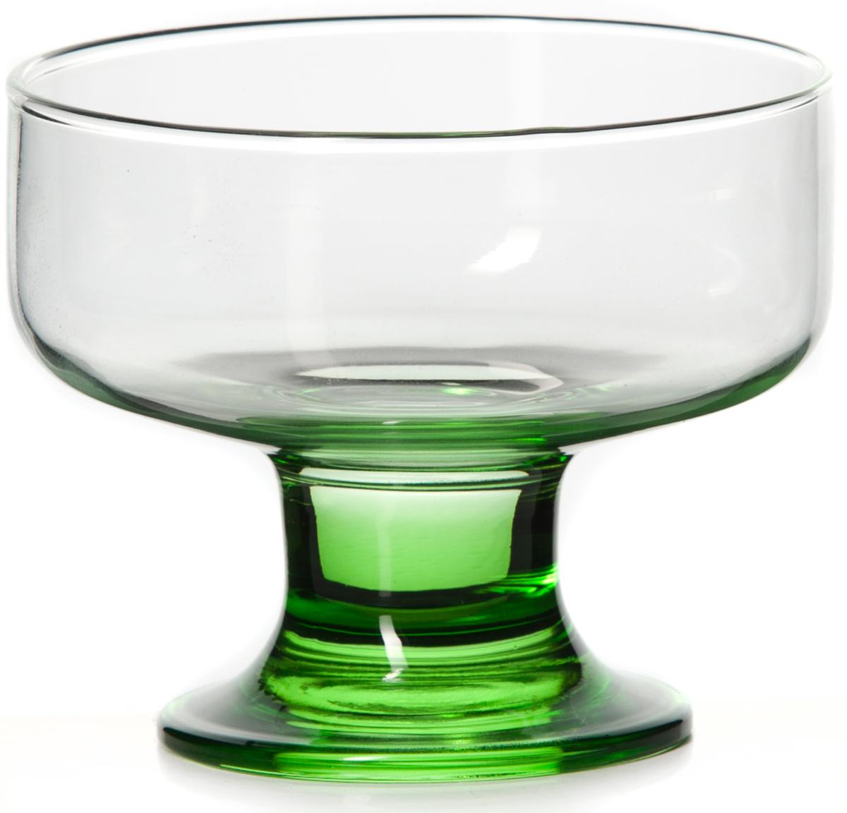 """Креманка Pasabahce """"Энжой грин"""" изготовлена из непористого стекла. Благодаря высокому уровню применяемых технологий изделие может использоваться на протяжении многих лет, не утрачивая эстетической привлекательности и оставаясь функциональными и современными. Высота: 80 мм. Объем: 250 мл."""