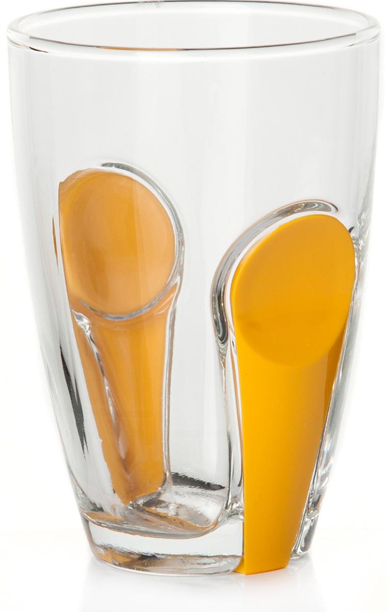 Стакан Pasabahce Снэп, цвет: прозрачный, желтый, 260 мл41632SLBYСтакан Pasabahce выполнен из прочного силикатного стекла, имеет удобный держатель.Идеально подходит для сервировки стола.Стакан не только украсит ваш кухонный стол, но и подчеркнет прекрасный вкус хозяйки.Диаметр стакана (по верхнему краю): 7,5 см.Высота стакана: 11 см.
