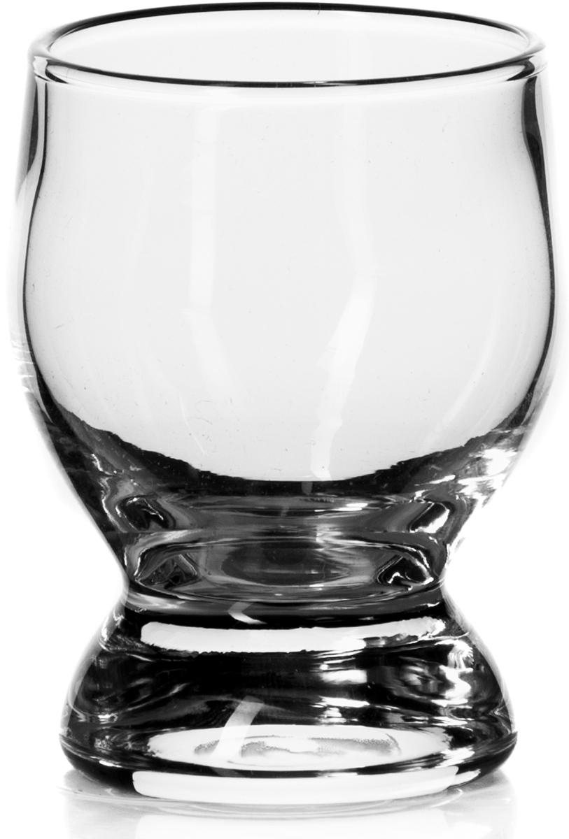 """Рюмка """"Pasabahce"""" выполнена из прочного натрий-кальций-силикатного стекла. Такая рюмка  станет незаменимым атрибутом за праздничным столом. Диаметр стопки (по верхнему краю): 6,5 см."""