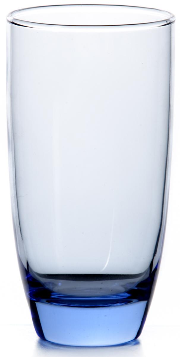 """Стакан Pasabahce """"Лайт блю"""" выполнен из прочного натрий-кальций-силикатного стекла.  Идеально подходит для сервировки стола.  Стакан не только украсит ваш кухонный стол, но и подчеркнет прекрасный вкус хозяйки."""