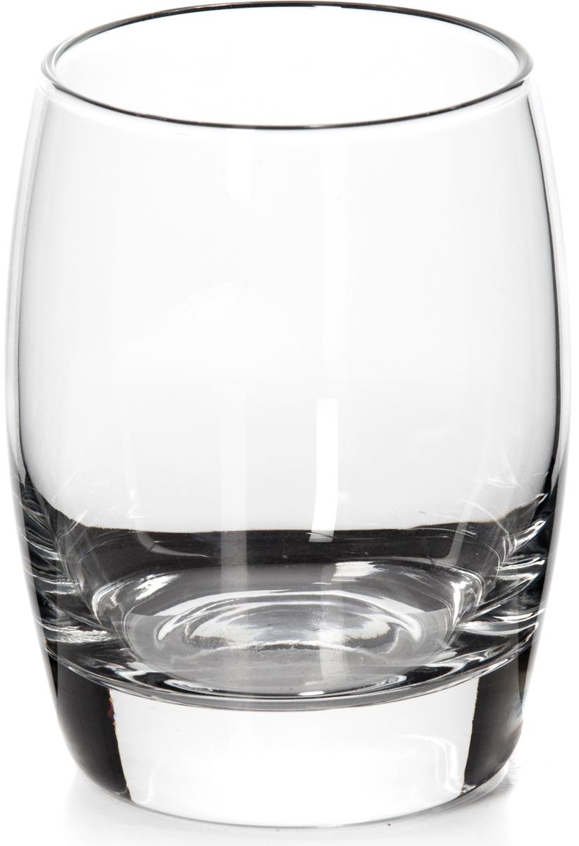 """Стакан """"Pasabahce"""" выполнен из прочного натрий-кальций-силикатного стекла. Идеально  подходит для сервировки стола.  Стакан не только украсит ваш кухонный стол, но и подчеркнет прекрасный вкус хозяйки.  Диаметр стакана (по верхнему краю): 7,5 см.  Высота стакана: 11 см."""