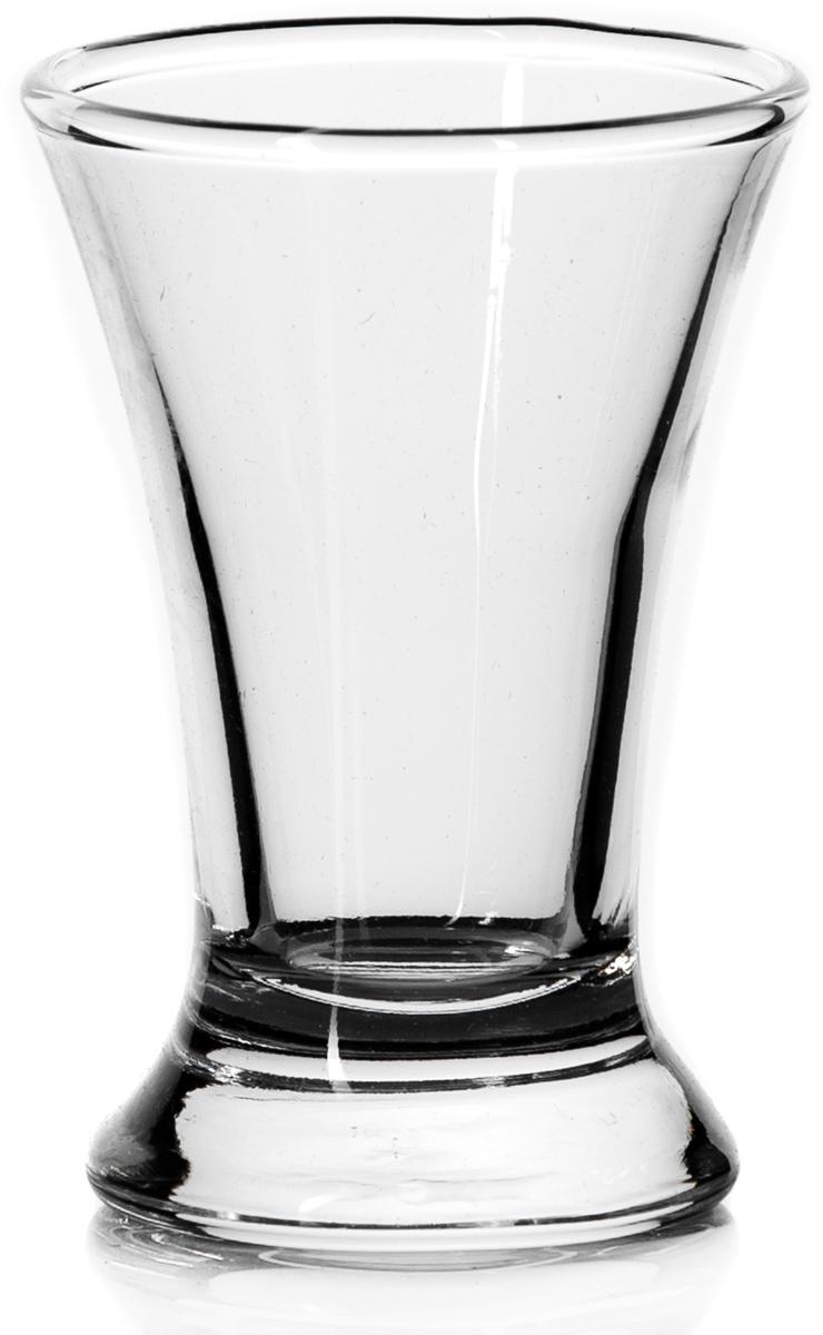 Стакан Pasabahce Паб, цвет: прозрачный, 50 мл42194SLBРюмка PUB (водка) V=60мл h=75мм (прозрачное стекло)