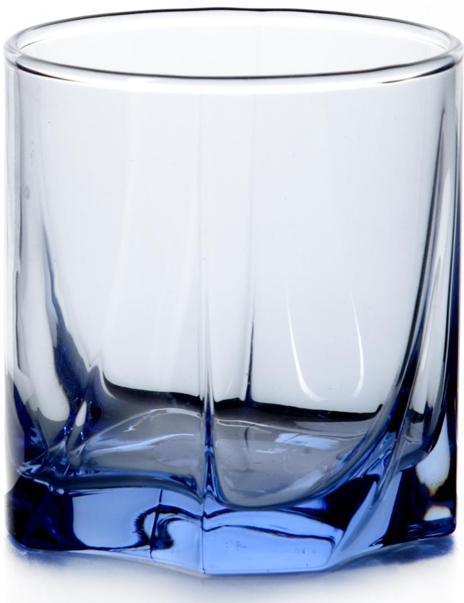 Стакан Pasabahce Лайт блю, цвет: голубой, 368 мл42348SLBMСтакан ЛАЙТ БЛЮ 360 мл (виски)