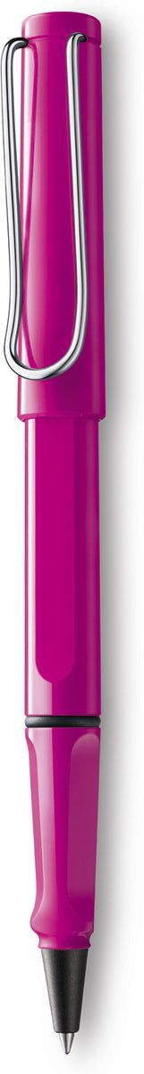 Lamy Safari Ручка-роллер 313 M63 синяя цвет корпуса розовый4029824Ручка-роллер Safari из самой популярной линейки бренда Lamy.Ручка выполнена из качественного пластика.На ручке есть металлический клип, который своим внешним видом напоминает скрепку.Ручка идеального размера, что позволяет принять правильное положение пальцев на письме.В ручке-роллере используется стержень Lamy М63. Цвет пасты - синий.Ручка упакована в подарочную коробку.