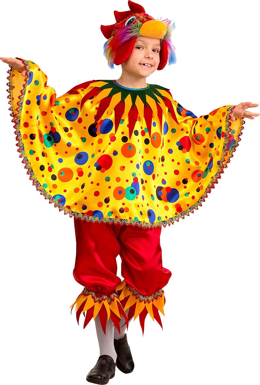 Батик Карнавальный костюм детский Петушок Чико размер 28
