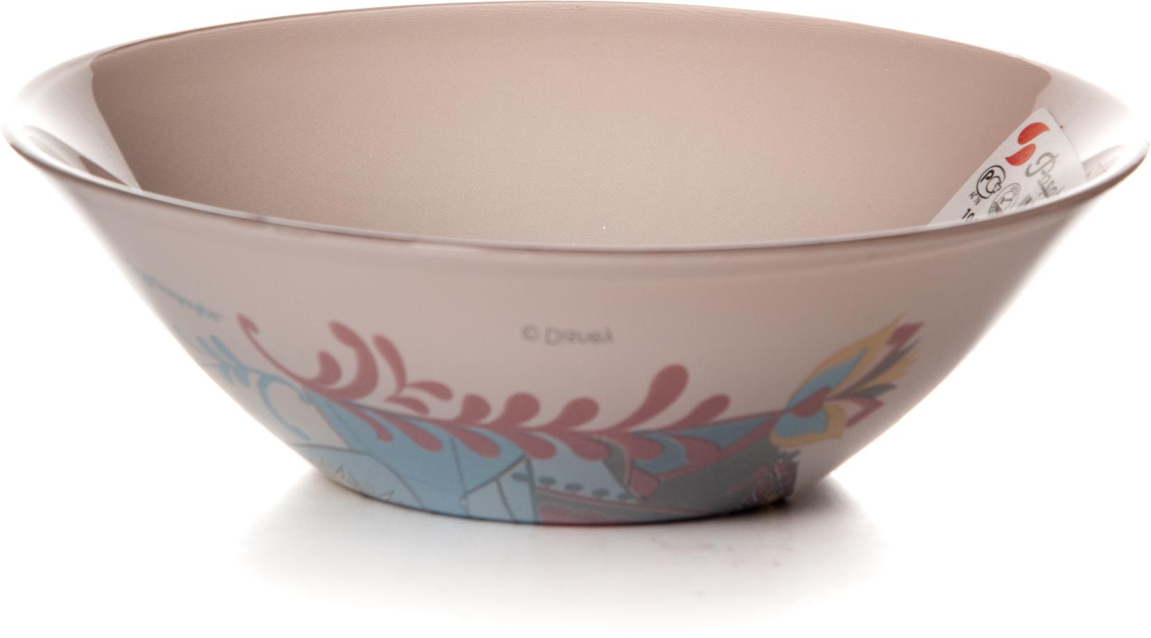 Салатник Pasabahce Холодное Сердце, цвет: розовый, диаметр 14 см тарелка pasabahce холодное сердце цвет розовый диаметр 19 5 см 10327slbd26