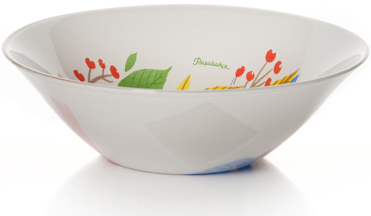 """Салатник Pasabahce """"Фейритейл"""" изготовлен из закаленного стекла. Такой салатник украсит сервировку вашего стола и подчеркнет прекрасный вкус хозяина, а также станет отличным подарком. Подходит для СВЧ- печей и посудомоечных машин."""