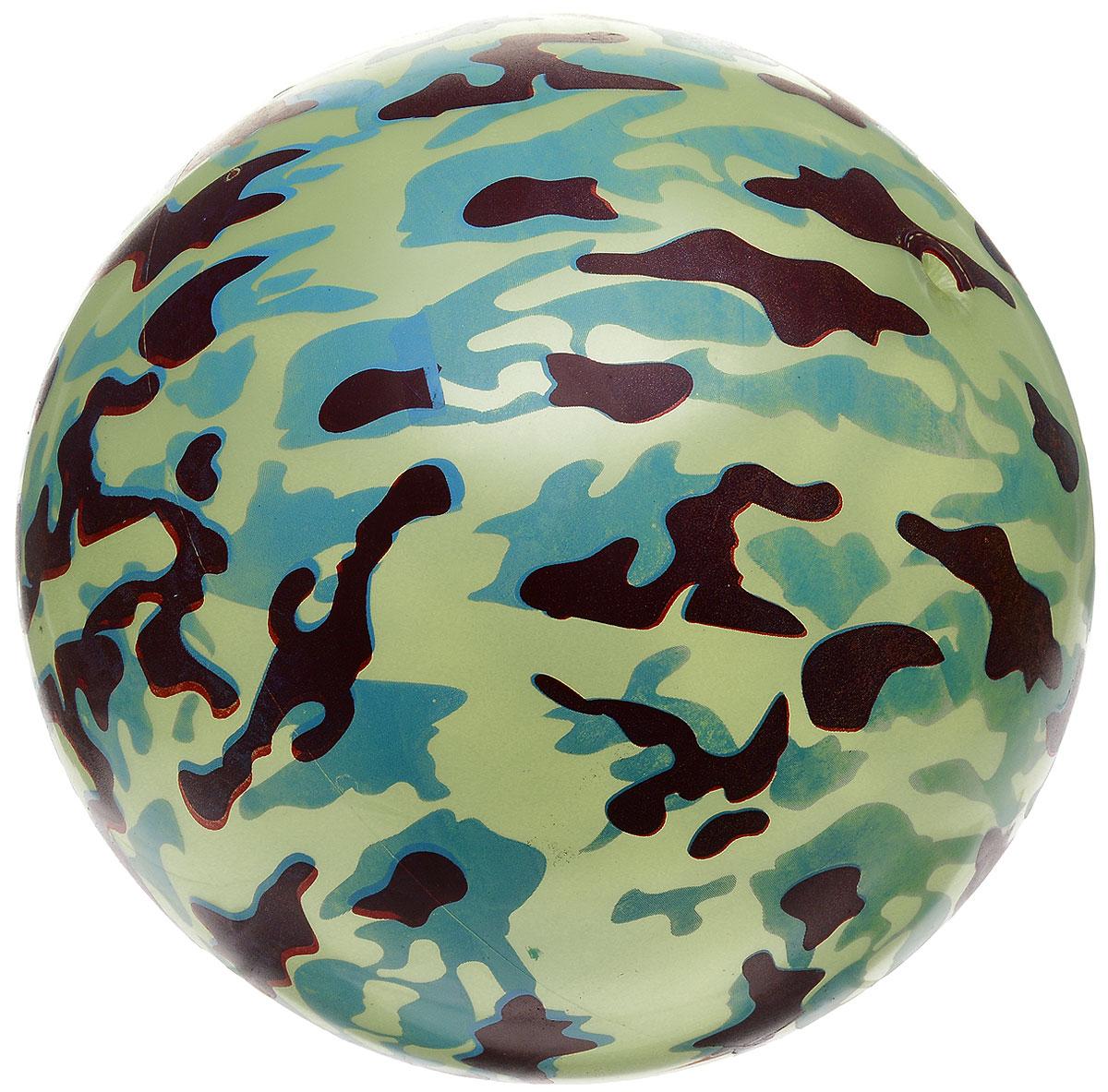 Забияка Мяч Защита цвет голубой желтый 22 см