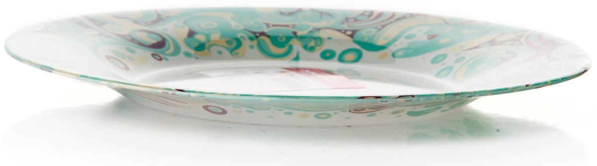 Тарелка Pasabahce Красота. Домашний, цвет: белый, диаметр 19,5 см