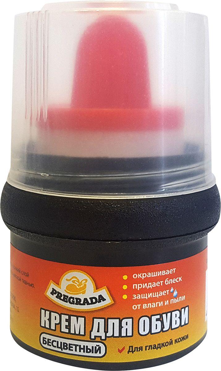 Крем для обуви Pregrada, с губкой, бесцветный, 65 гHS.050012Крем предназначен для обуви из гладкой кожи и кожзаменителя. Крем обеспечивает эффективный уход за обувью, обновляет цвет и закрашивает потертости. Благодаря губке-аппликатору, средство удобно в использовании, исключается соприкосновение рук с кремом.