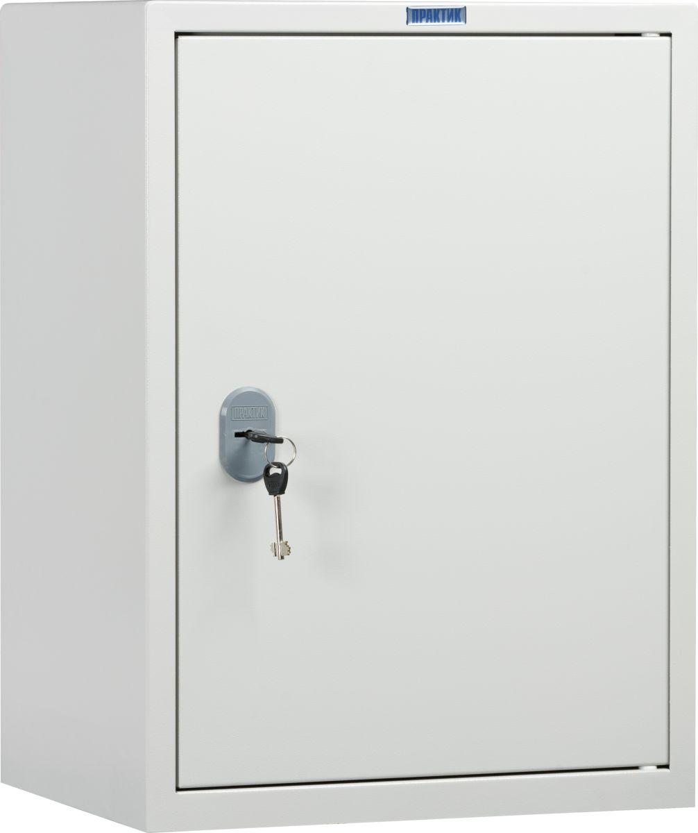 Сейф Практик SL-65TS10799060502Предназначен для хранения любых видов документов в офисе.Сварная металлическая конструкция.Оборудован встроенным отделением, запирающимся на ключ.Комплектуется переставной полкой.Комплектуется замком Практик (2000 комбинаций).Тип материала- высококачественная сталь 1,2 мм,количество дверей -1, количество замков - 1 ключевой (2 ключа),количество полок - 1, трейзер.
