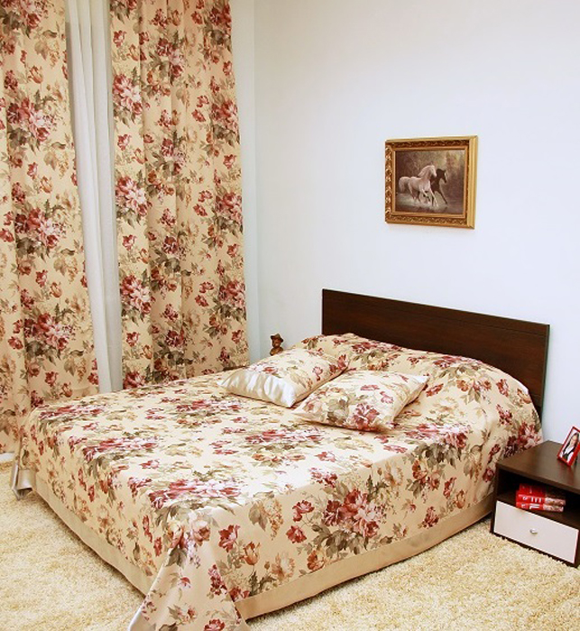 Покрывало МарТекс Прованс, цвет: бежевый 220 х 260 см. 05-0464-3 покрывало на кресло les gobelins mexique 50 х 120 см
