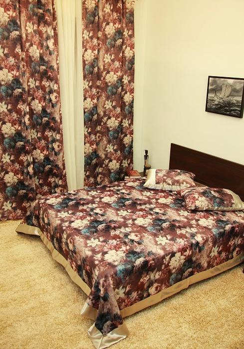 Покрывало МарТекс Прованс, цвет: бордовый 220 х 260 см. 05-0467-3 покрывало на кресло les gobelins mexique 50 х 120 см