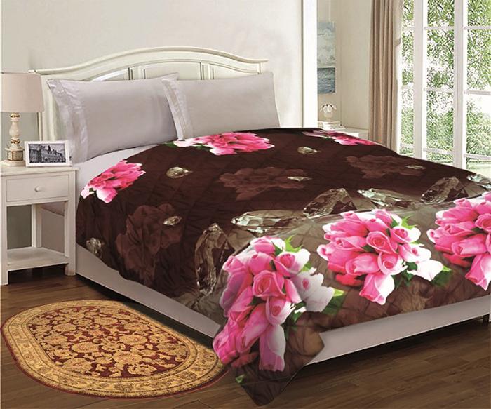 Комплект МарТекс Бордо: покрывало 200 х 220 см, подушка 45 х 45 см. 05-0587-3