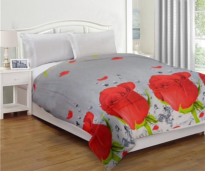 Комплект МарТекс Нежное прикосновение: покрывало 200 х 220 см, подушка. 05-0635-3
