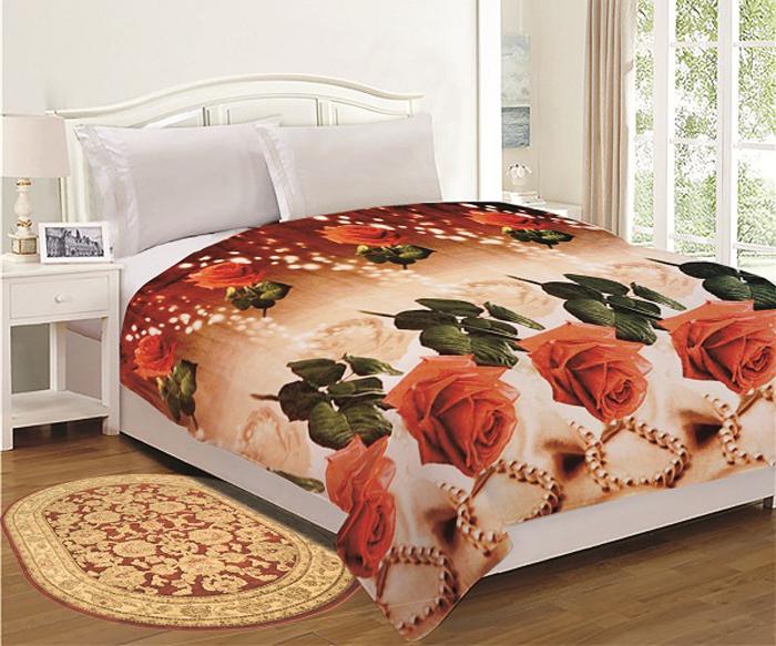 "Комплект для спальни ""МарТекс"": покрывало 200 х 220 см, подушка 40 х 40 см. 05-0691-3"