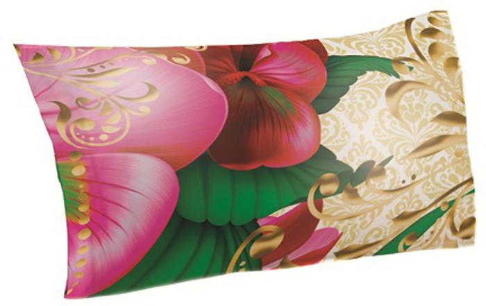 Подушка декоративная МарТекс Соната Пинк №1, цвет: розовый, 45 х 45 см16-1340-1Декоративная подушка, рисунок выполнен методом фотопечати. Наполнение полое силиконизированное волокно Hollow Fiber.