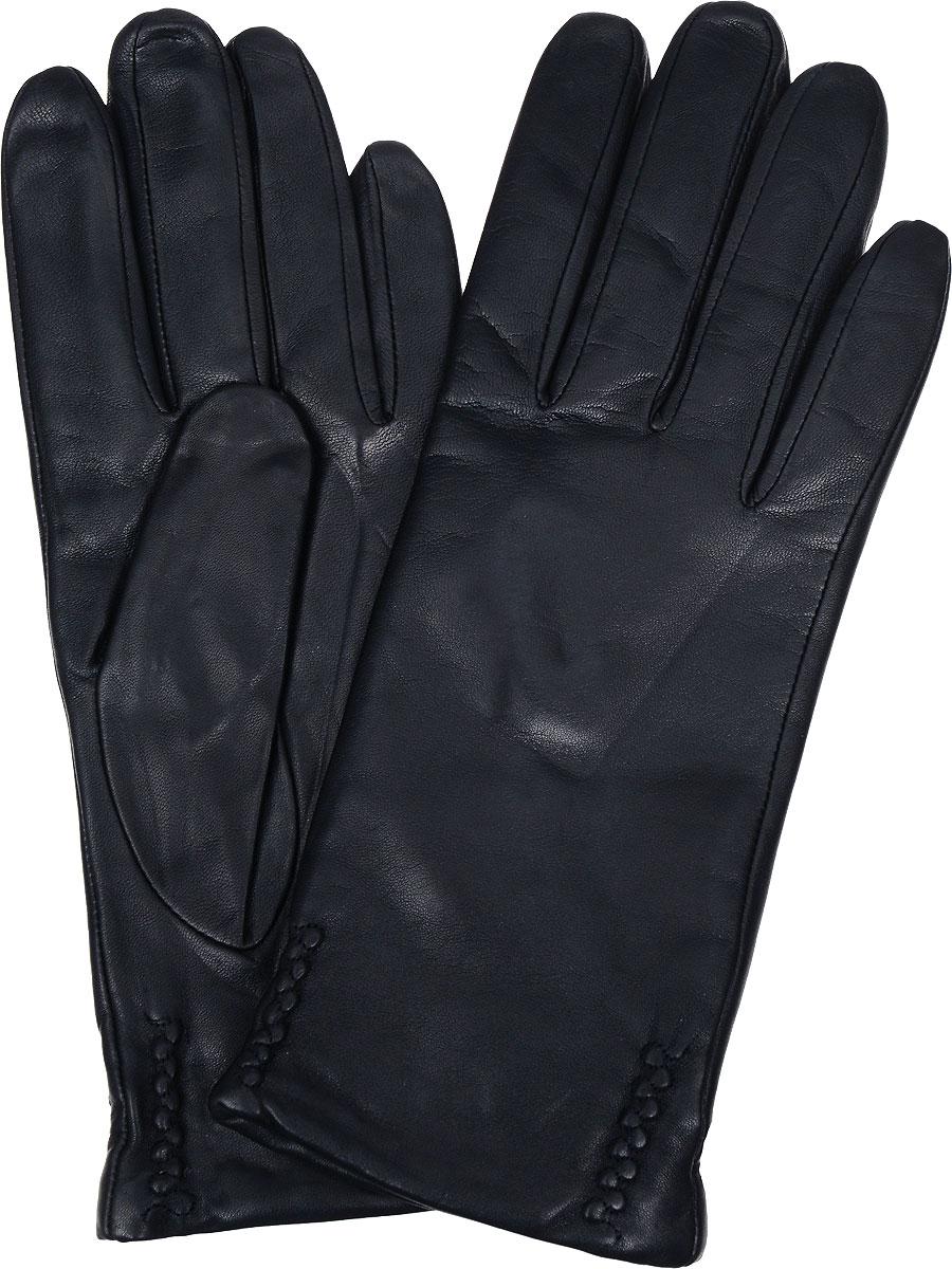 Перчатки женские Eleganzza, цвет: черный. IS0424. Размер 8