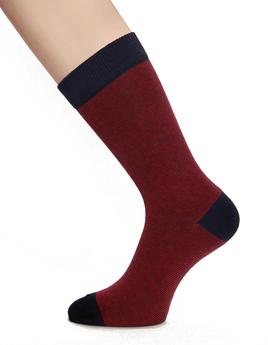 Носки мужские Touch Gold, цвет: красный, 2 пары. 2п-183. Размер 40/42 (25/27)2п-183Практичный и бюджетный подарок для мужчин - набор носков, состоящий из 2 пар. Модель имеет контрастный носок, пятку и манжету. Надпись на этикетке: Оригинальные и стильные носки бывают подчеркивает изделия, которые созданы в стиле кэжуал. Это полная свобода выбора и стильный гардероб при небольших финансовых затратах.