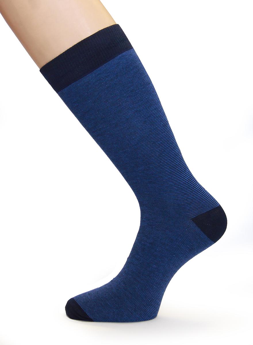 Купить Носки мужские Touch Gold, цвет: синий, 2 пары. 2п-183. Размер 42/44 (27/29)