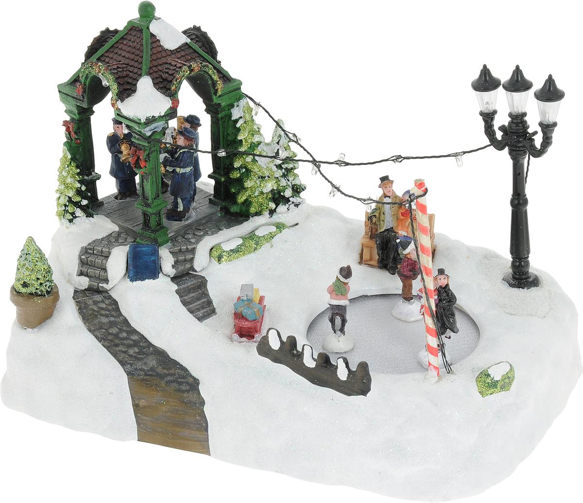 B&H Праздничный концерт в деревне-светомузыкальная композиция -  Украшения