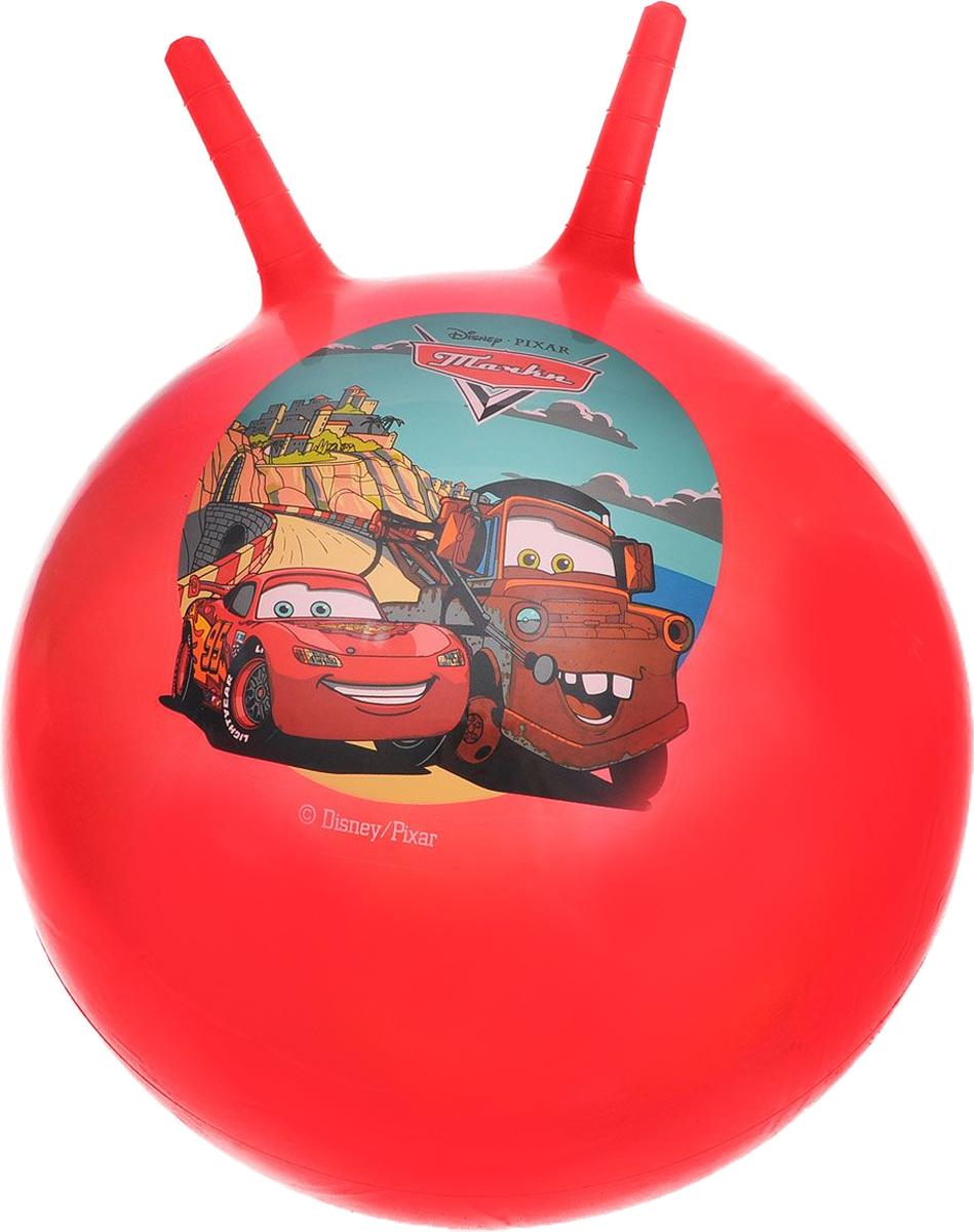 Фото Играем вместе Мяч-прыгунок Тачки с рожками цвет красный 45 см