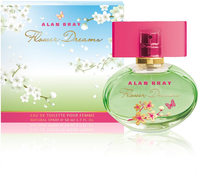 Alan Bray,Туалетная вода Flower Dreams, женская 50 мл