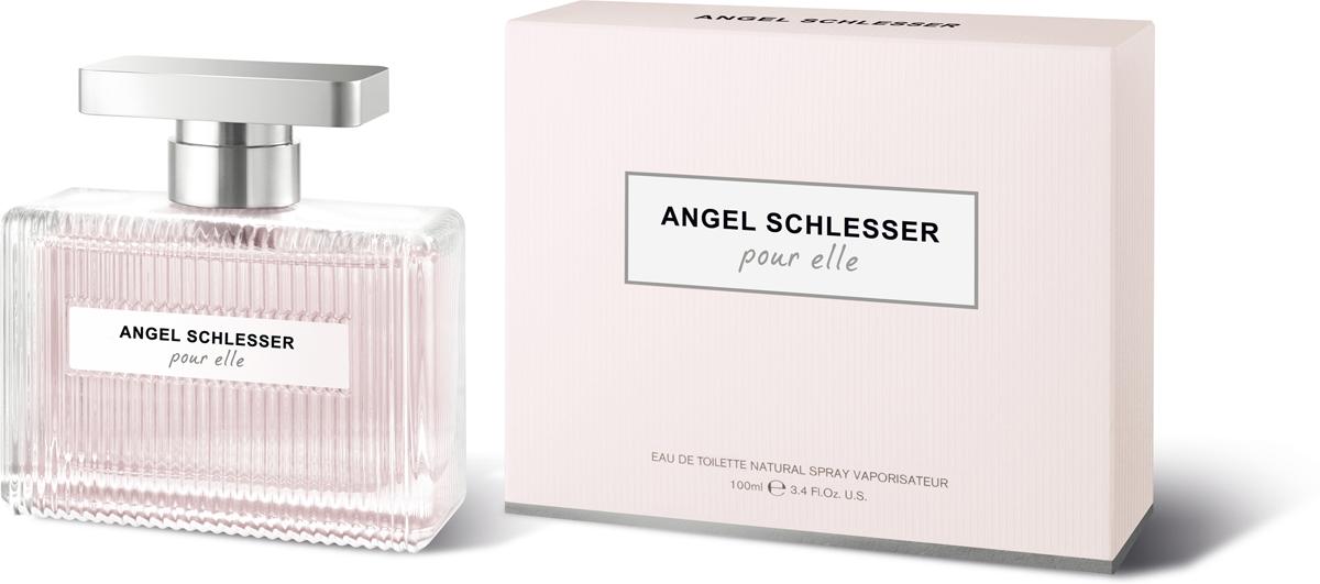 Angel Schlesser туалетная вода Pour Elle, женская, 100 мл angel schlesser pour elle туалетная вода женская 50 мл