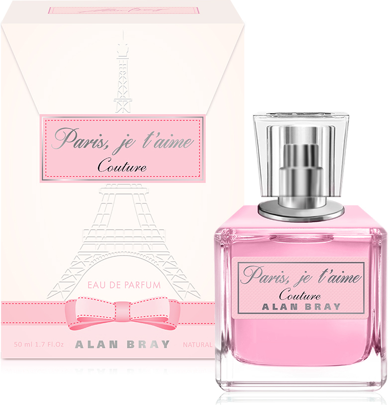 Alan Bray, Paris, je taime Сouture ,парфюмированная вода 50 мл
