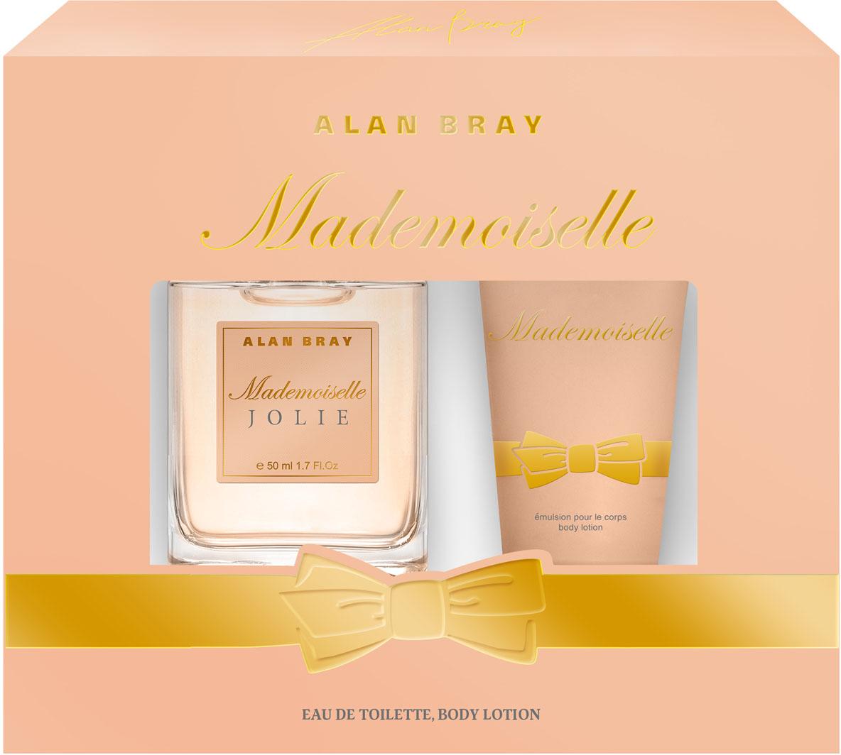 Alan Bray Парфюмированный набор: Mademoiselle Jolie Парфюмерная вода 50 мл + Лосьон для тела Mademoiselle, 75 мл