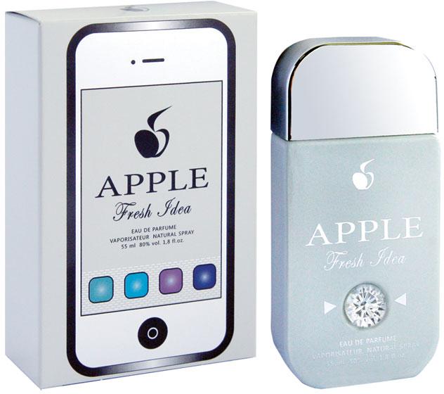 Apple Parfums Парфюмерная вода женская Fresh Idea, 55 мл apple parfums парфюмерная вода женская gold prime 55 мл