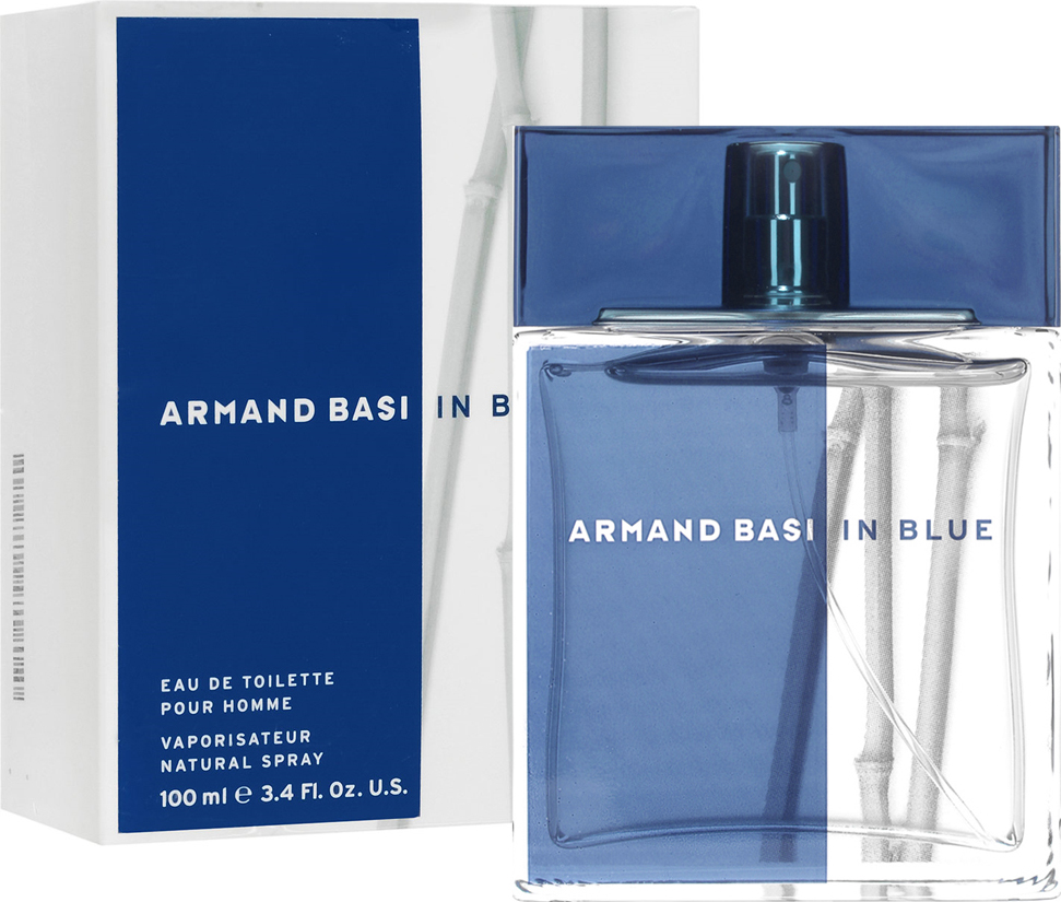 Armand Basi Туалетная вода In Blue, мужская, 100 мл туалетная вода armand basi leau pour homme туалетная вода 125 мл